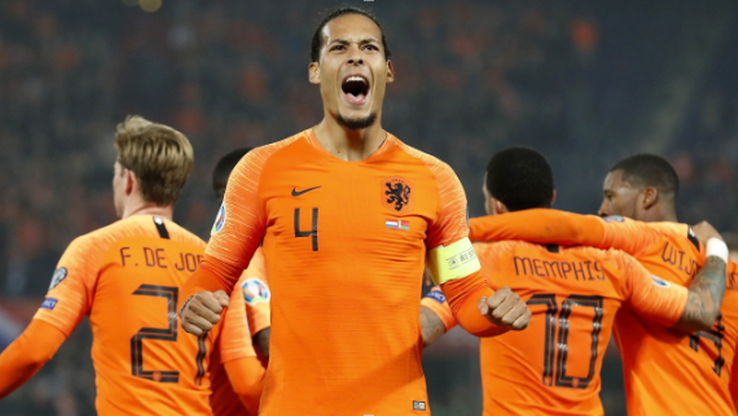Liga Narodów: Holandia - Anglia. Transmisja w Polsacie Sport