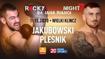 Igor Jakubowski w walce wieczoru podczas gali Rocky Boxing Night. Karta walk