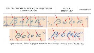 IPN opublikował opinię biegłych wydaną w śledztwie dot. podrobienia dokumentów SB na szkodę Lecha Wałęsy