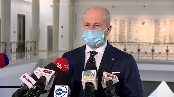 Wróblewski: jeśli zostanę rzecznikiem, zrezygnuję z członkostwa w PiS