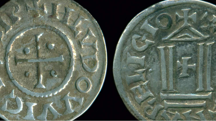 Skarb z IX wieku w Polsce. Detektoryści znaleźli karolińskie denary