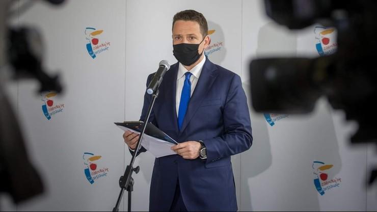 Trzaskowski złożył oświadczenie majątkowe wraz z żoną. 48 tys. zł oszczędności i mieszkania