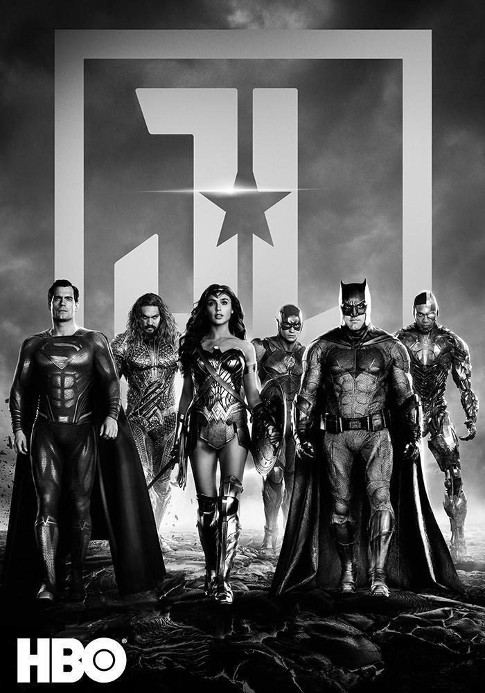 Liga Sprawiedliwości Zacka Snydera (dubbing) (wersja czarno-biała)