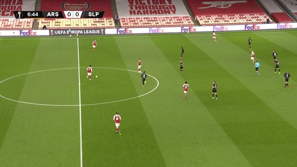 Arsenal Londyn - Slavia Praga