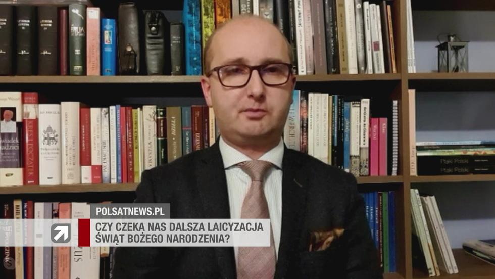 Gość Wydarzeń - dr Marcin Kędzierski