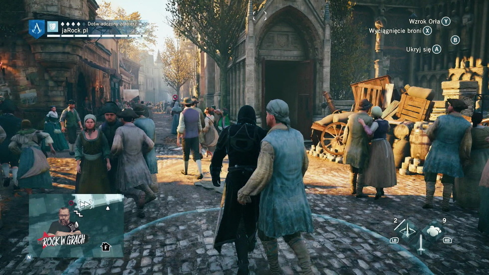 Rock w grach - AC Unity