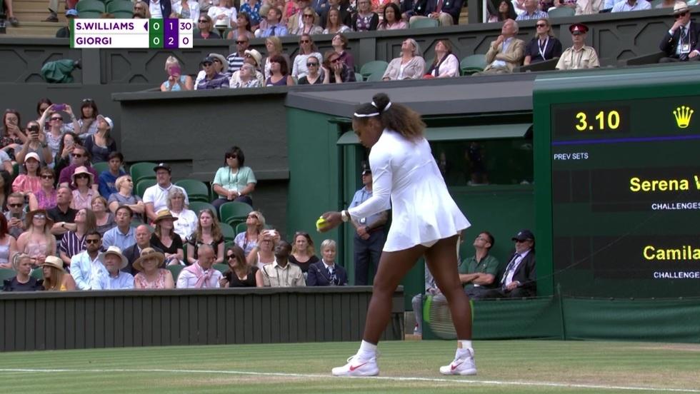 Serena Williams - Camila Giorgi